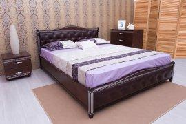 Кровать Прованс мягкая спинка (ромбы) с подъемным механизмом - 120х190-200см