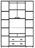 Шкаф-купе ШТВ-5 (2600х450х2200)