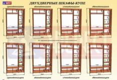 Шкаф-купе 2-х дверный Эверест (1000*450(600)*2400)