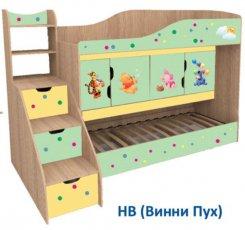 Двухъярусная кровать Никита Мебель-сич