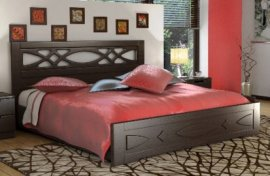 Односпальная кровать Лиана 90х200