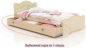Односпальная кровать  Феи в облаках  (ящик)