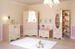 Шкафчик с зеркалом  Provence