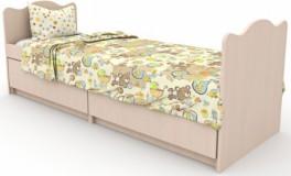 Кровать трансформер Мишка с букетом 5в1
