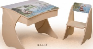 Парта Умник со стульчиком Фотопечать