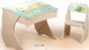 Парта Умница со стульчиком Фотопечать