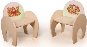 Игровой столик  Курочка  +2 стульчика Фотопечать