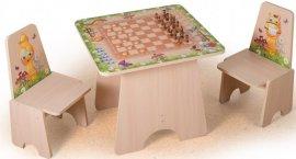 Игровой столик Шахматы +2 стульчика