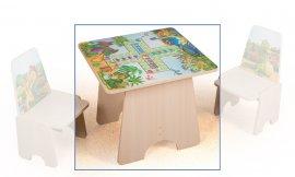 Игровой столик Динозаврики