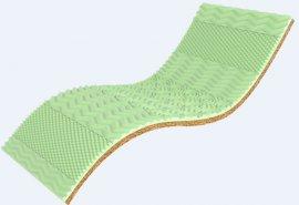 Топпер 3D Green Kokos - 120x200 см