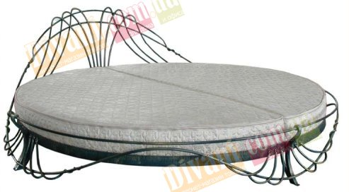 Кровать Афина - размер Ø250см