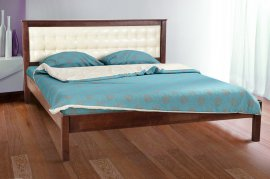 Двуспальная кровать Карина (мягкое изголовье) Элегант - 180 см