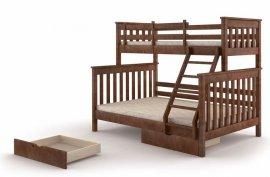 Двухъярусная кровать Скандинавия Уют