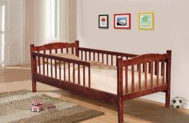 Кровать односпальная Юниор Уют (с 1 или 2-мя заборами)