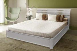Двуспальная кровать Мария с подъемным механизмом (белая) 180х200 см