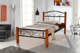 Односпальная кровать Релакс Вуд Айрон 90х200 см.