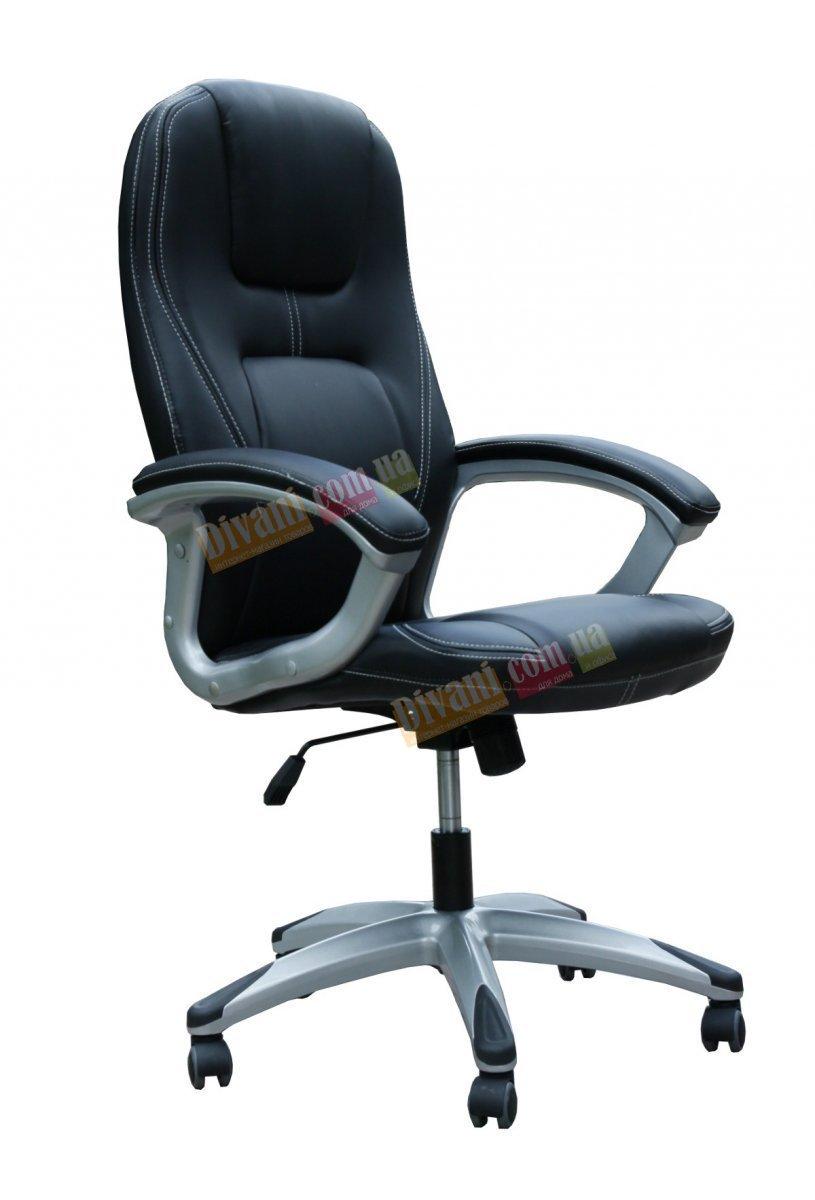 Кресло руководителя Z-057 черное с пластиковой основой
