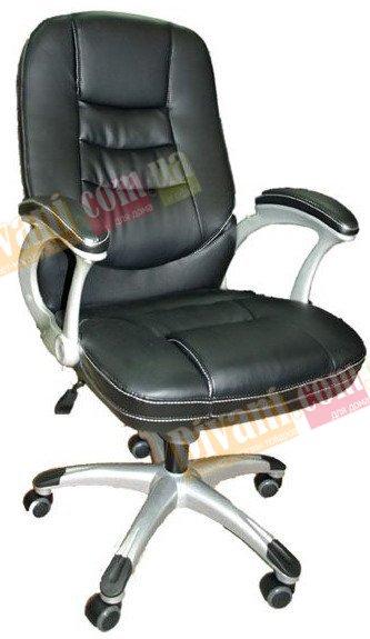Кресло руководителя Z-050 черное с пластиковой основой