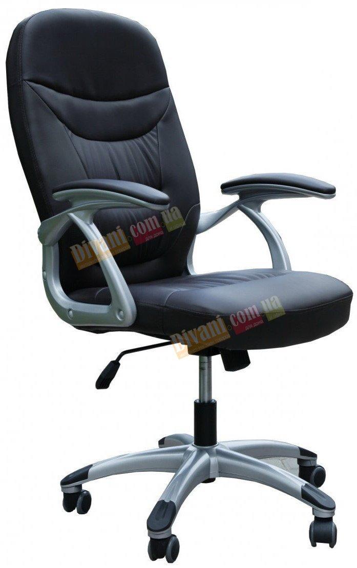 Кресло руководителя Z-035 черное с пластиковой основой