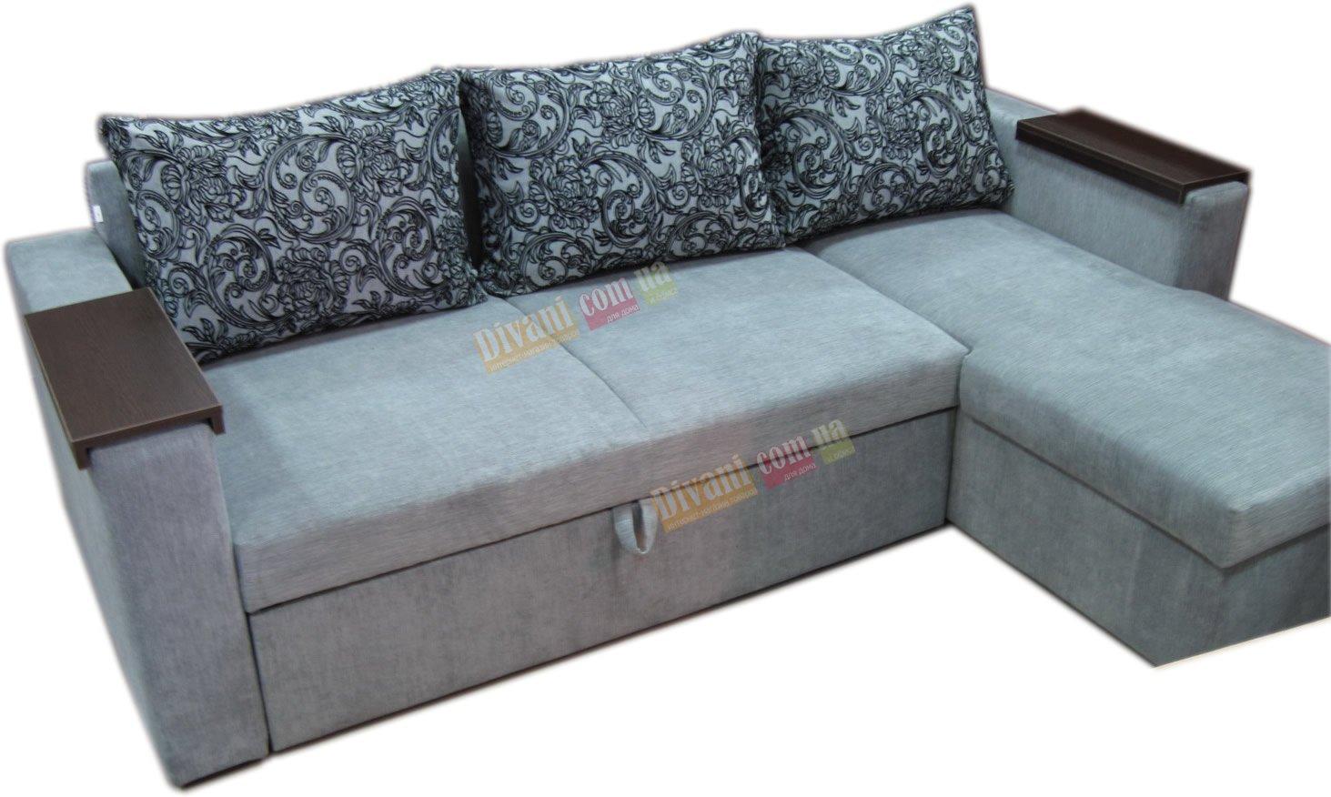 Угловой диван Сити LUX с зонированным матрасом