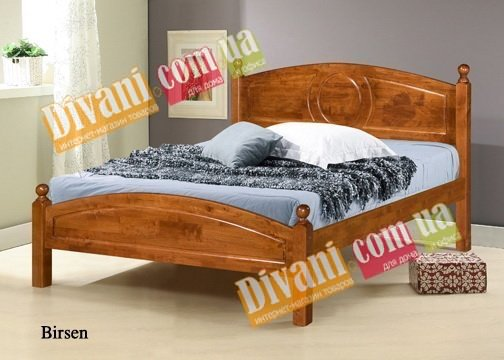 Кровать Onder Metal Wood Beds Birsen