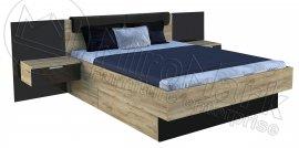 Кровать Луна с тумбами 180х200 см