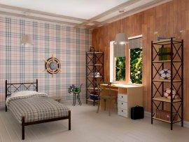 Односпальная кровать Домино - 90х190-200 см