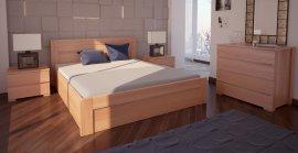 Двуспальная кровать Орландо ПМ - 180х190-200 см
