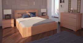 Двуспальная кровать Лондон ПМ - 180х190-200 см