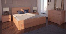 Двуспальная кровать Марсель ПМ - 180х190-200 см