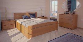 Двуспальная кровать Сидней 2 ПМ - 180х190-200 см