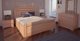 Двуспальная кровать Сидней 3 ПМ - 180х190-200 см