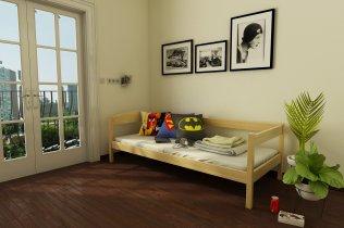 Детская кровать Мартель массив 80х190/200 см