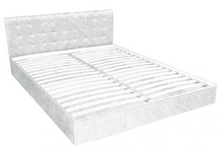 Двуспальная кровать Сити с вкладом - 180х200 см