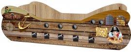 Детская кровать Пиратский корабль