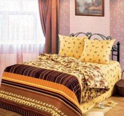 Евро комплект постельного белья Меланж