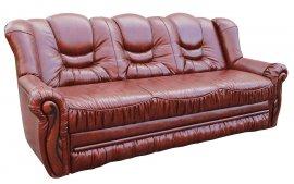 Кожаный диван Паж