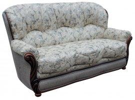 Кожаный диван Плай-3