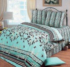 Полуторный комплект постельного белья Азур