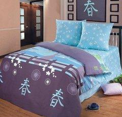 Семейный комплект постельного белья Сайюри