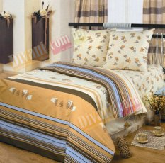 Двухспальный комплект постельного белья Афина