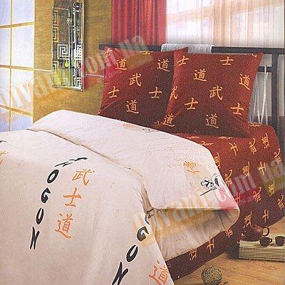 Евро комплект постельного белья Самурай