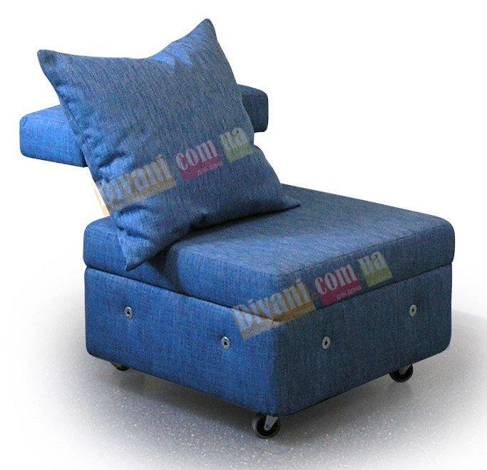 Модульный диван Тетрис - Пуф с прямой спинкой