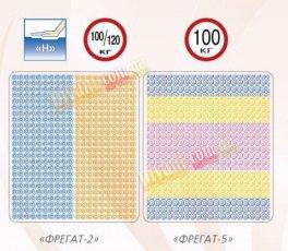 Двуспальный матрас Фрегат-2 и Фрегат-5 серия Люкс - 160x200 см