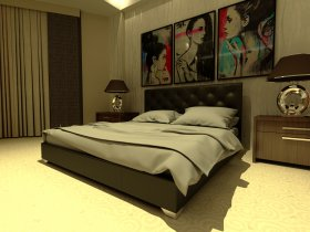 Двуспальная кровать Морфей 180х200