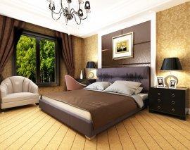 Двуспальная кровать Камелия 200х160