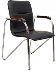 Кресло для руководителя Самба каркас хром