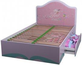 Односпальная кровать Русалочка Дизайн Русалочка Дисней