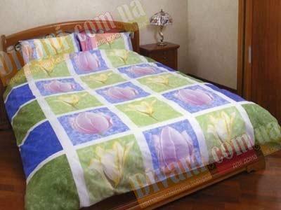 Полуторный комплект постельного белья Голландия -566