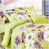 Полуторный комплект постельного белья Лесные цветы -609